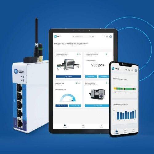 Ixon-Cloud: aktualisierte Oberfläche und neue Apps