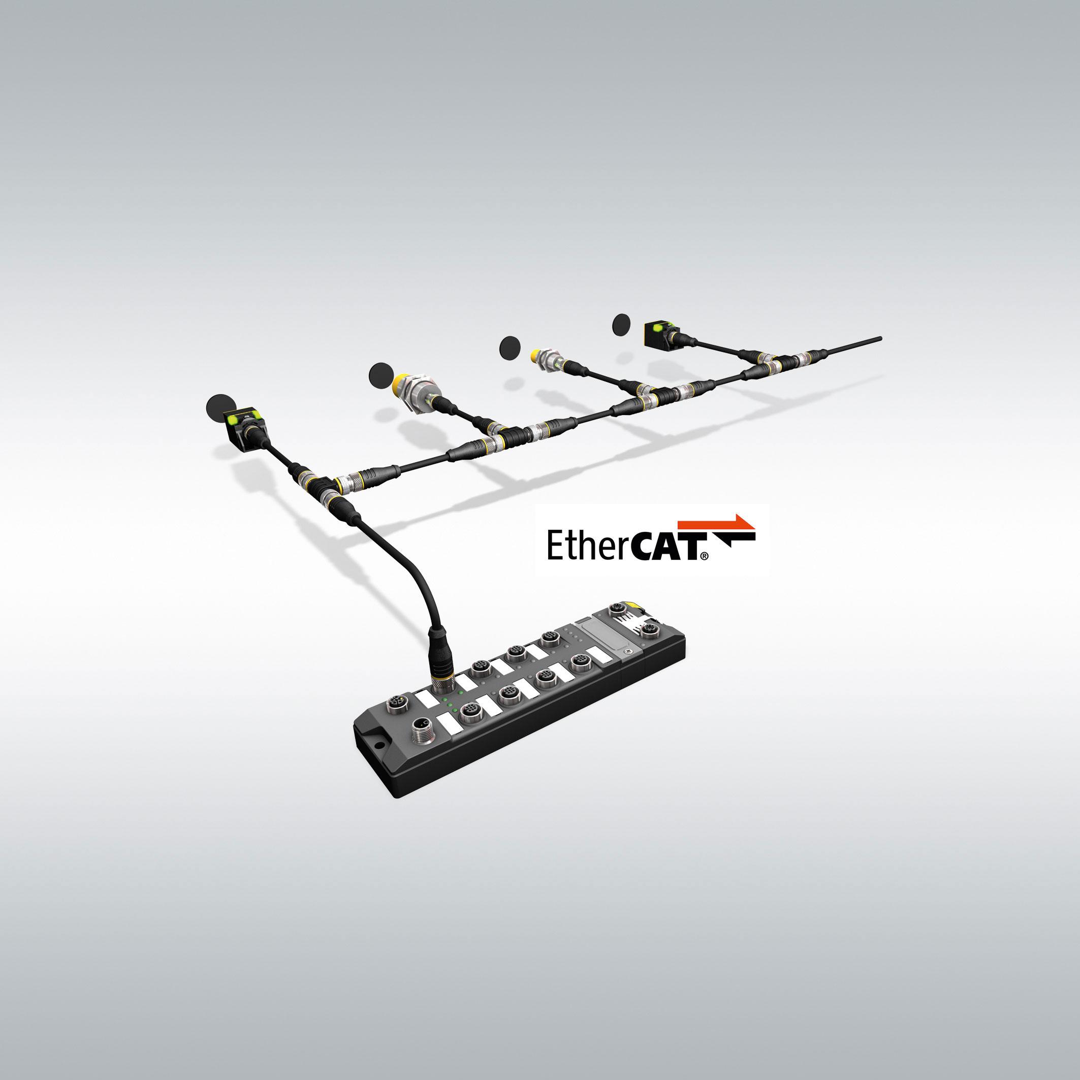 Schnelles RFID-I/O-Modul für Ethercat