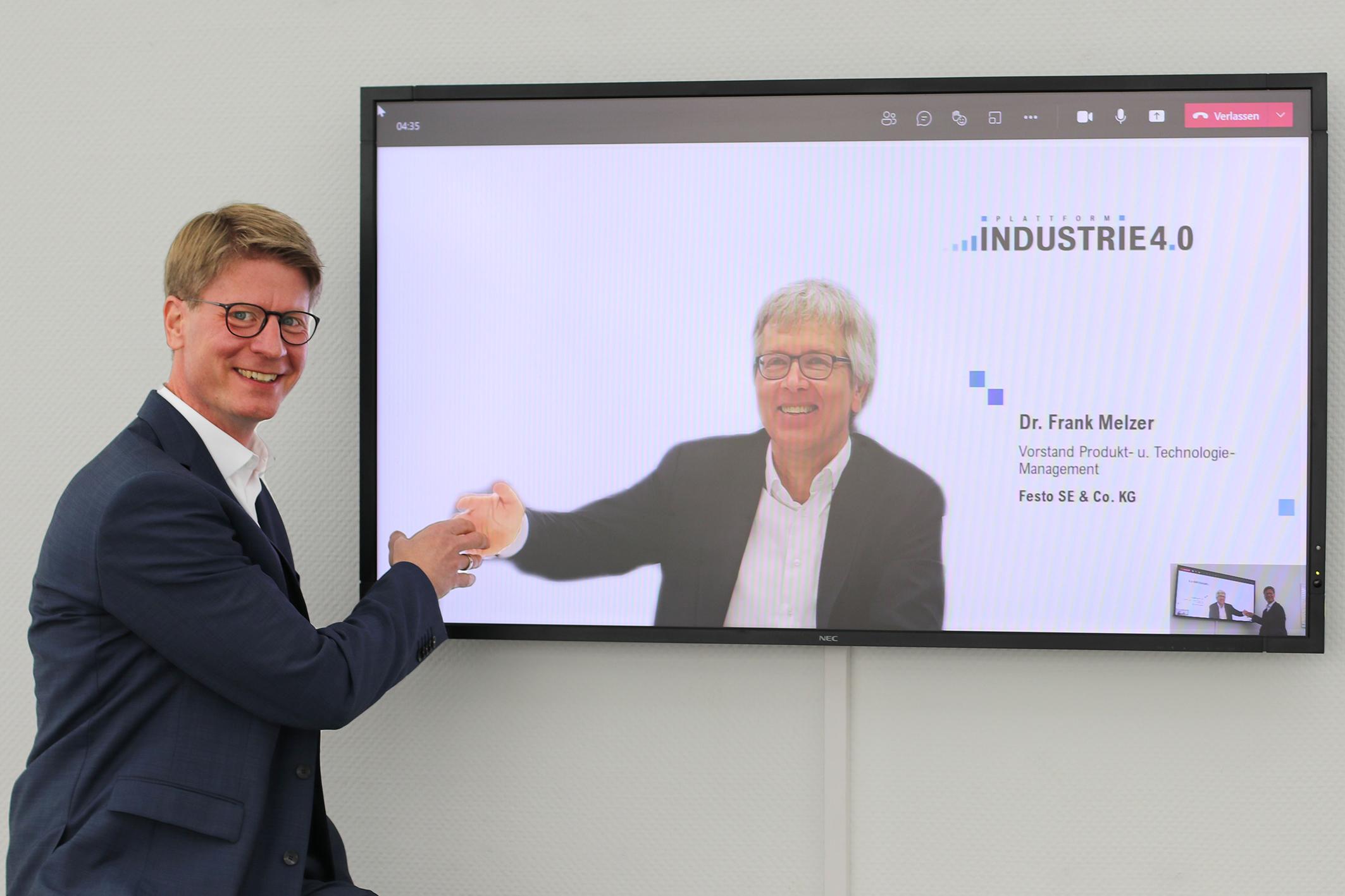 Neuer Vorsitz des Lenkungskreises für Plattform I4.0