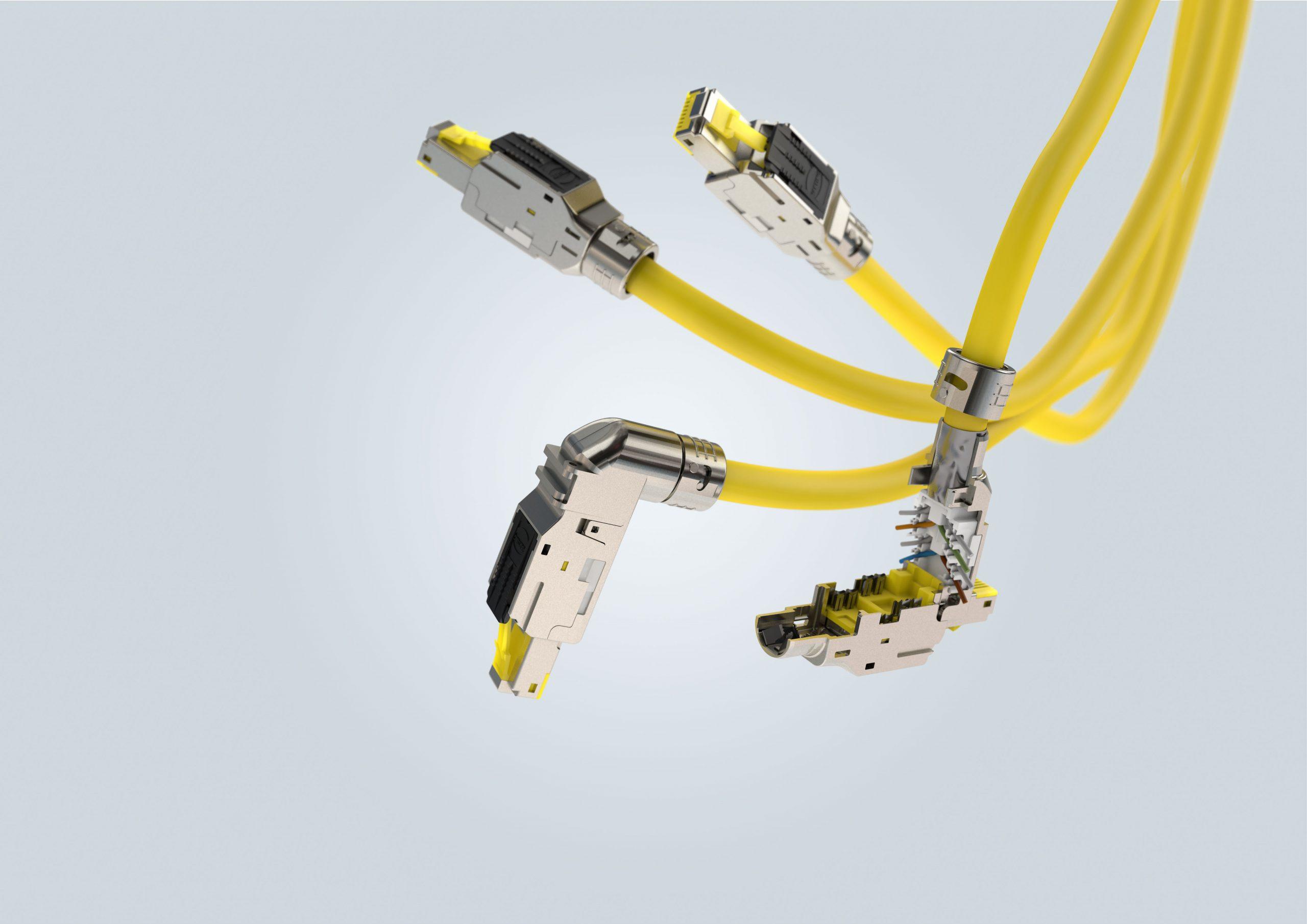 Neue Ethernet-Schnittstelle für die Industrie