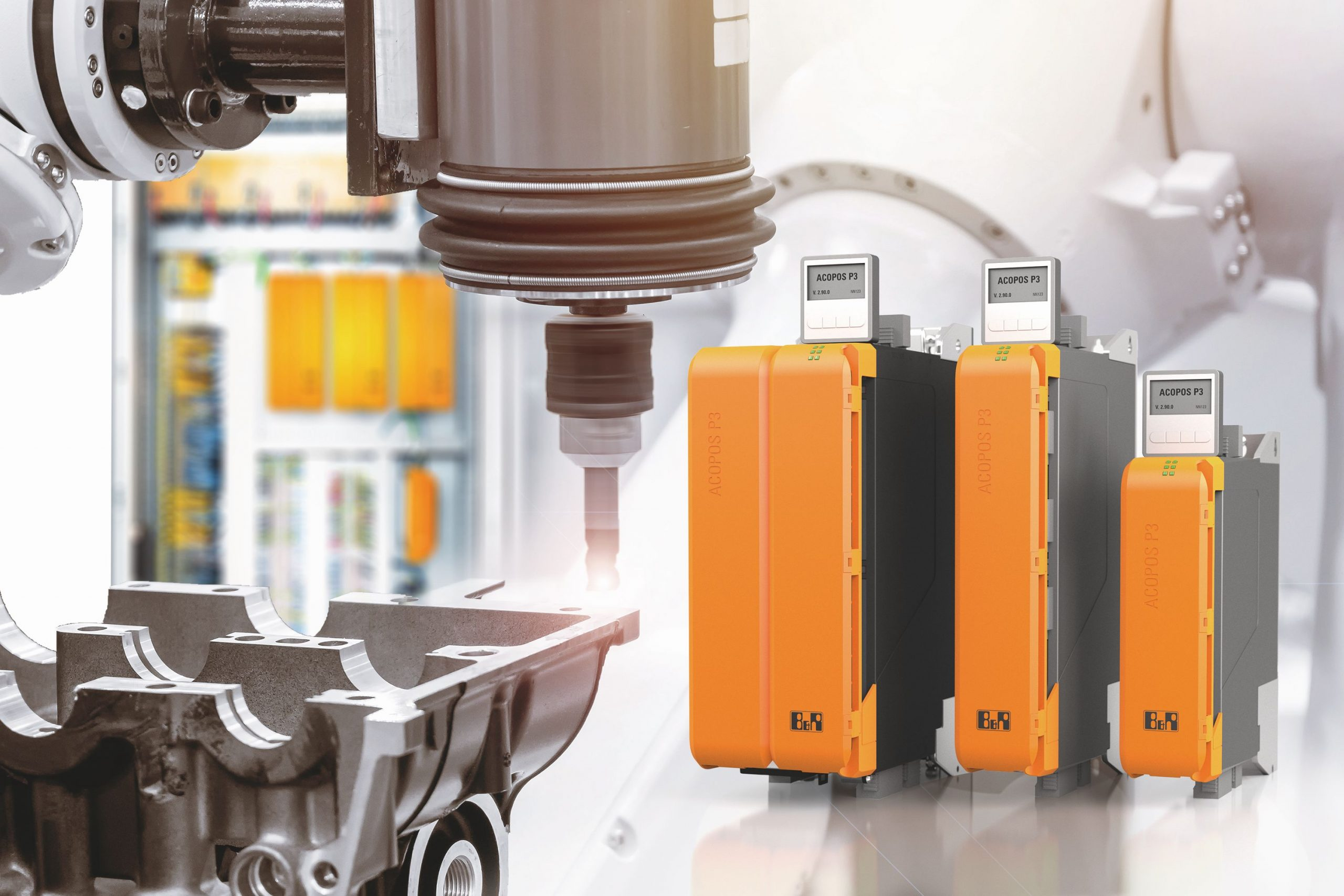Neue Variante für B&R-Servoverstärker