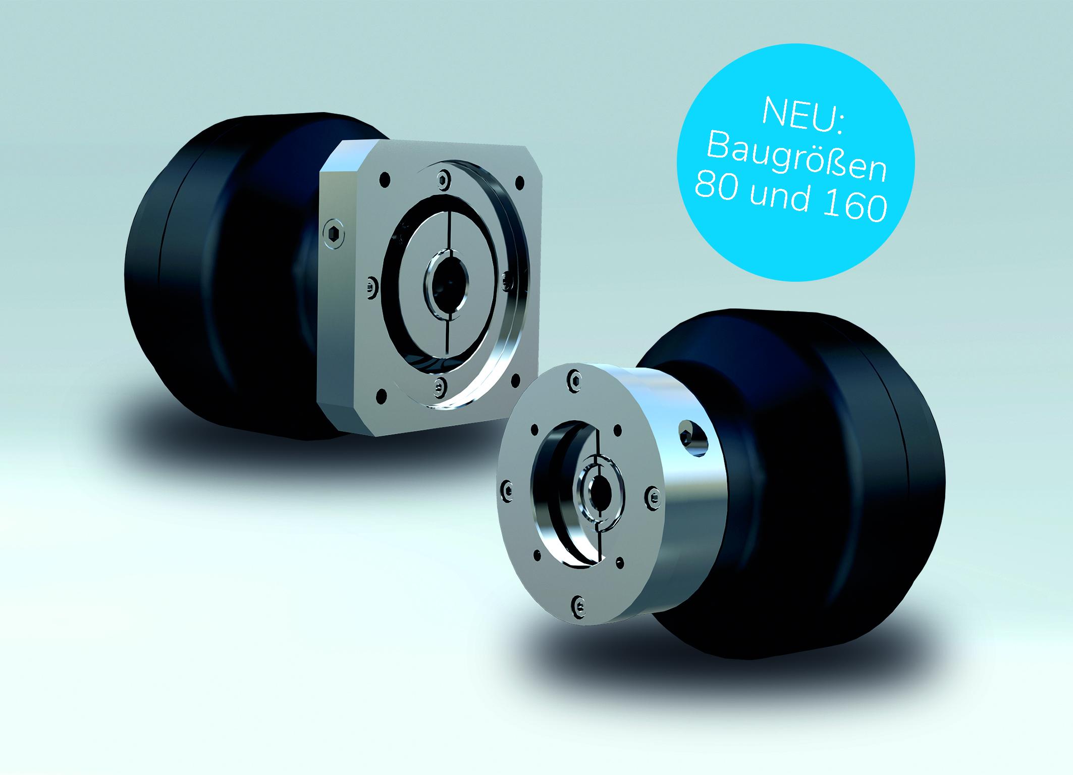 Nabtesco-Getriebeserie mit neuen Baugrößen