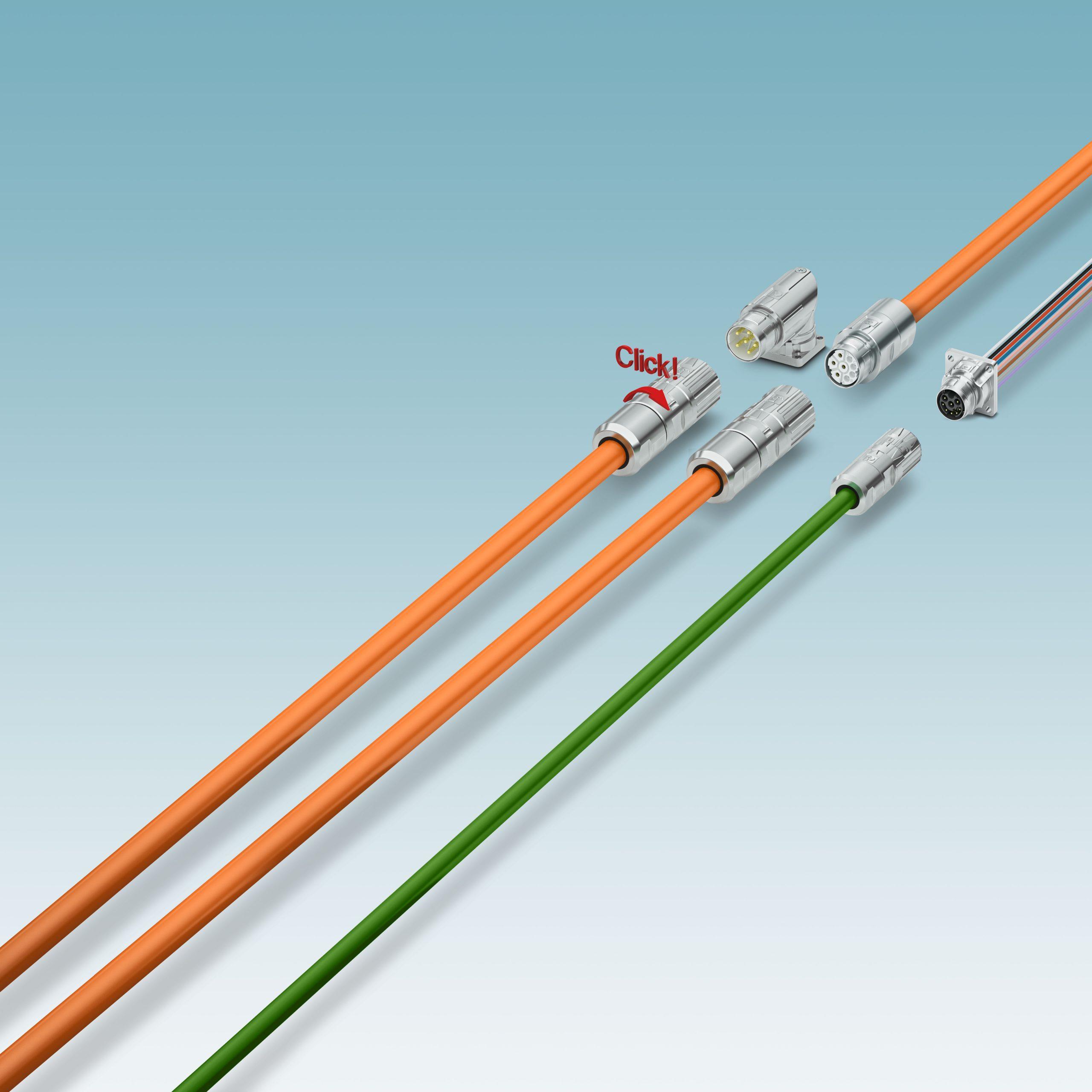 Neue Bauformen für Rundsteckverbinder