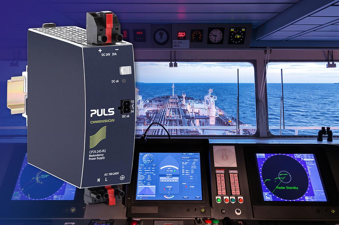 Stromversorgung für Marineanwendungen