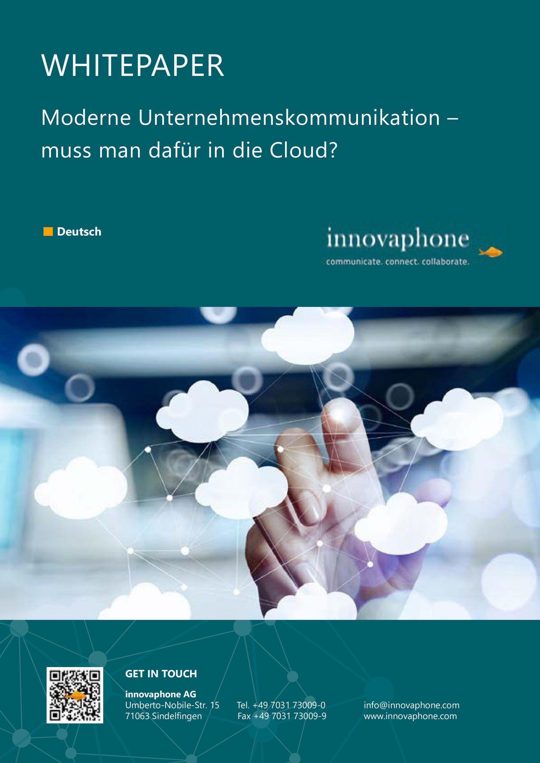 Whitepaper: Moderne Unternehmenskommunikation