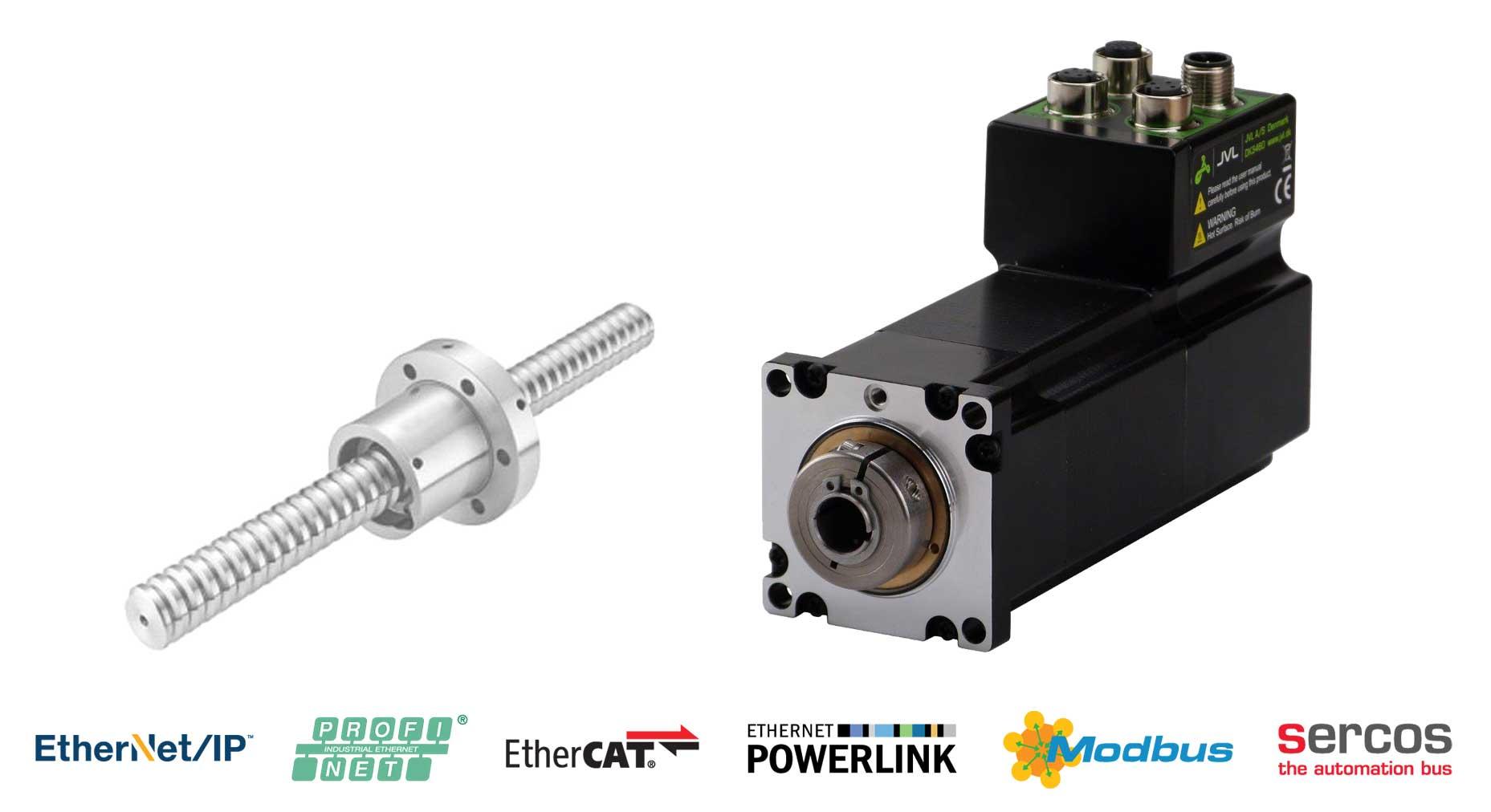 Integrierte Spindelantriebe mit absolutem Multiturn-Drehgeber