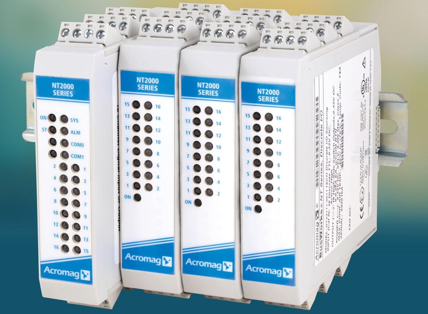 Erweiterbare Remote-I/O-Module