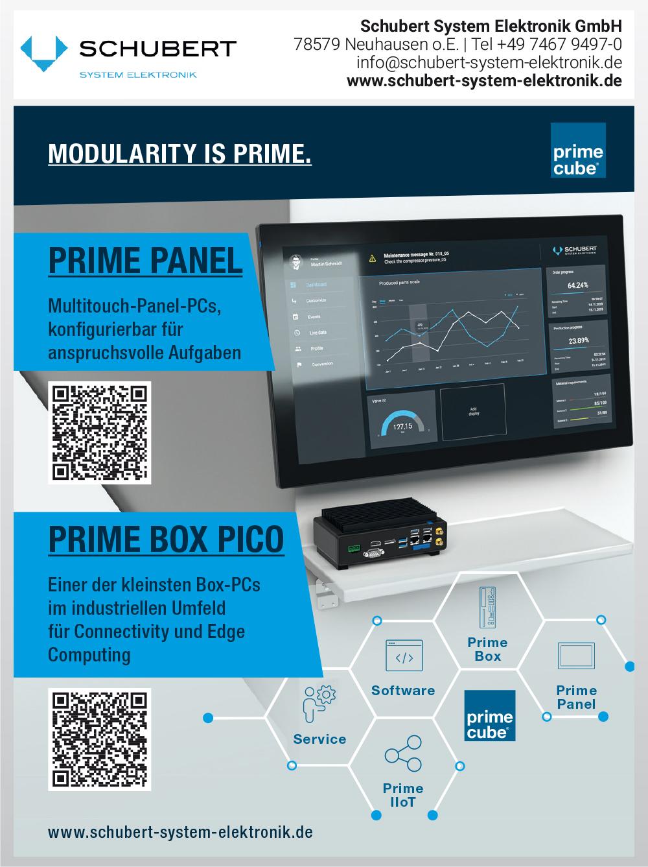 Produktübersicht – Schubert System Elektronik GmbH