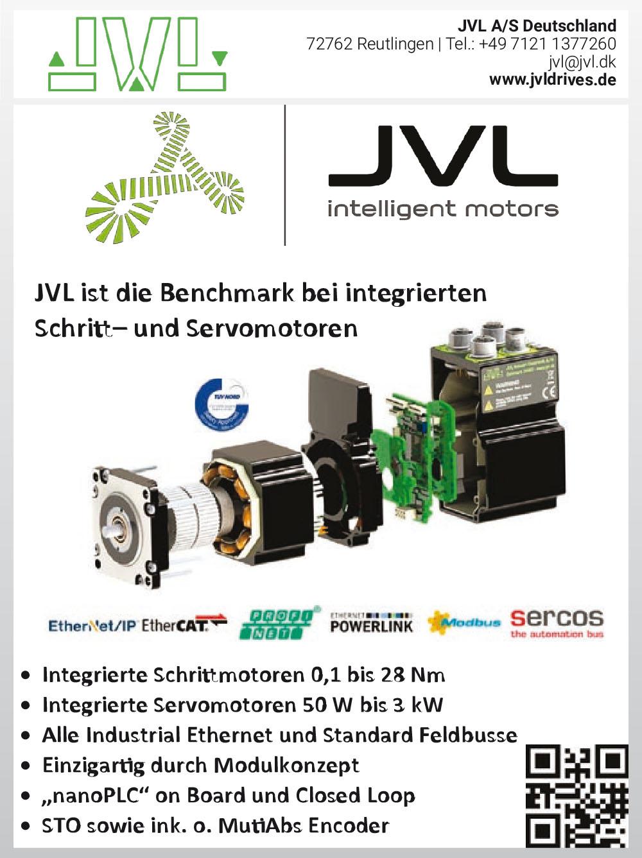 Produktübersicht – JVL A/S