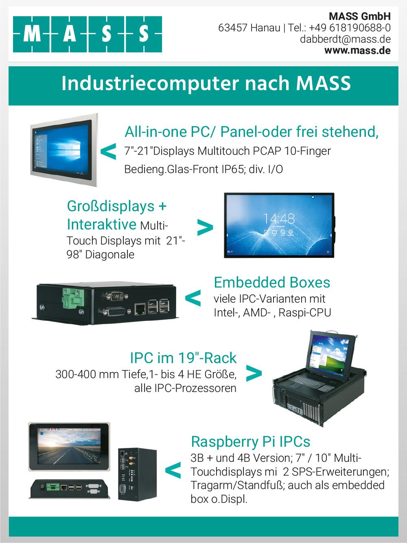 Produktübersicht – MASS GmbH