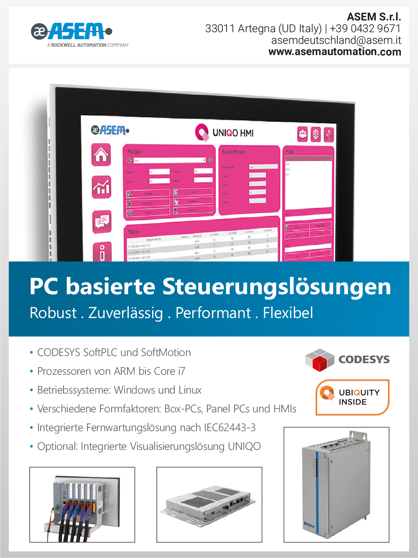Produktübersicht – ASEM S.p.a.
