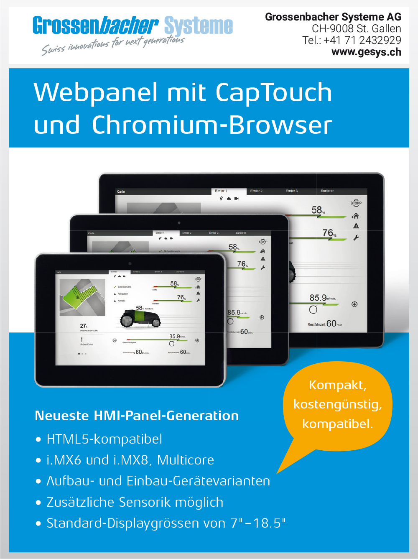 Produktübersicht – Grossenbacher Systeme AG