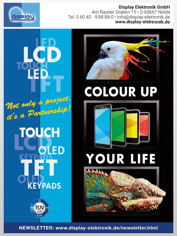 Produktübersicht – Display Elektronik GmbH