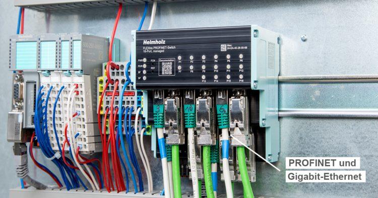 Switch für Profinet und GBit-Ethernet