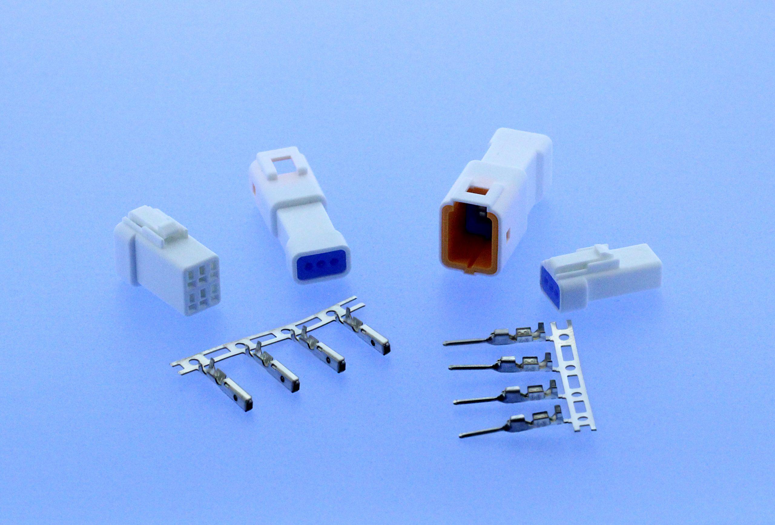 Wire-to-Wire-Steckverbinder in IP67