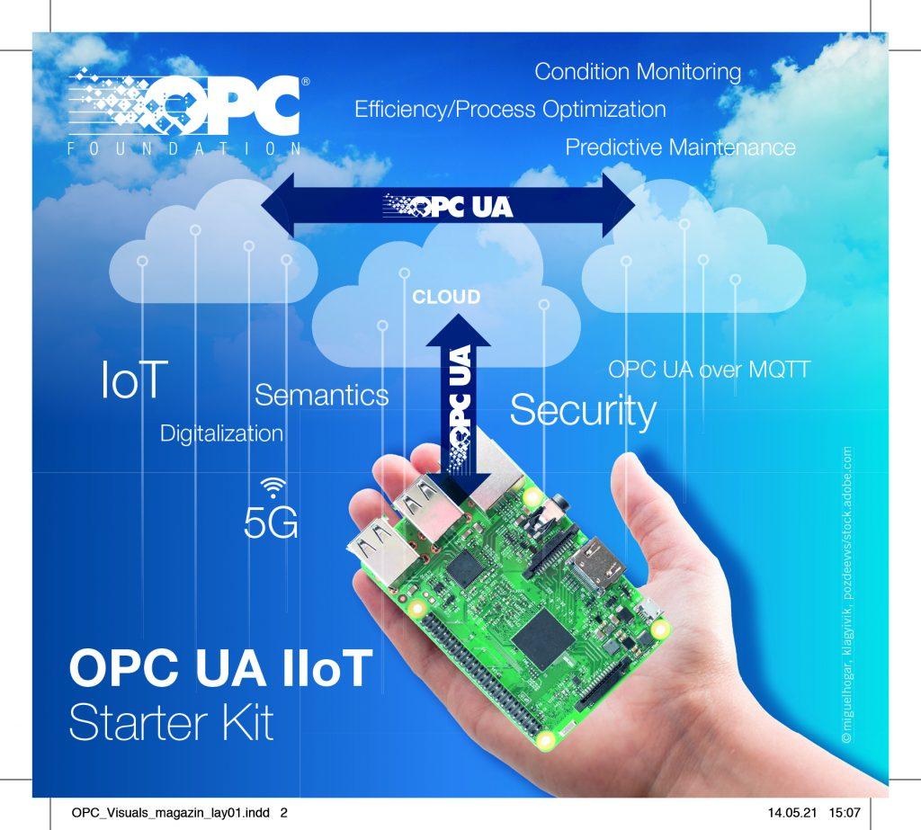 Das OPC UA IIoT Starter Kit wird am OPC Day International vom 8. bis 10. Juni 2021 offiziell vorgestellt.