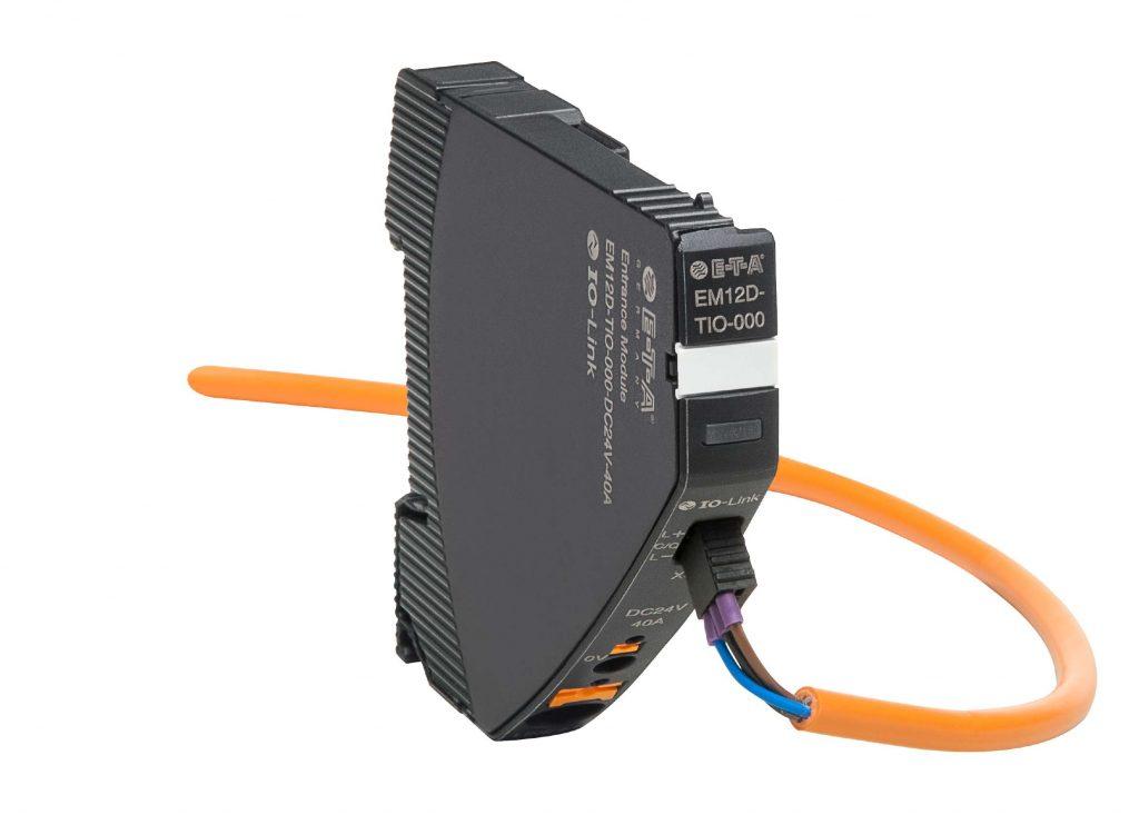 Das Einspeisemodul EM12D-TIO bildet die Schnittstelle zum IO-Link-Master.