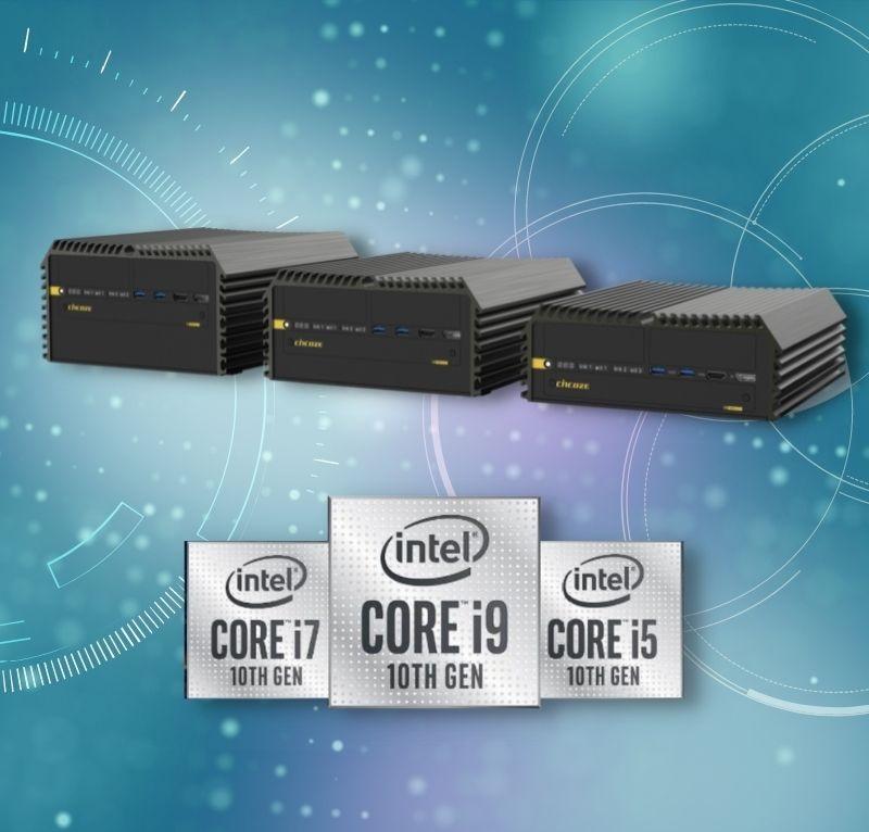 Embedded-PCs mit neuer Intel-CPU-Generation