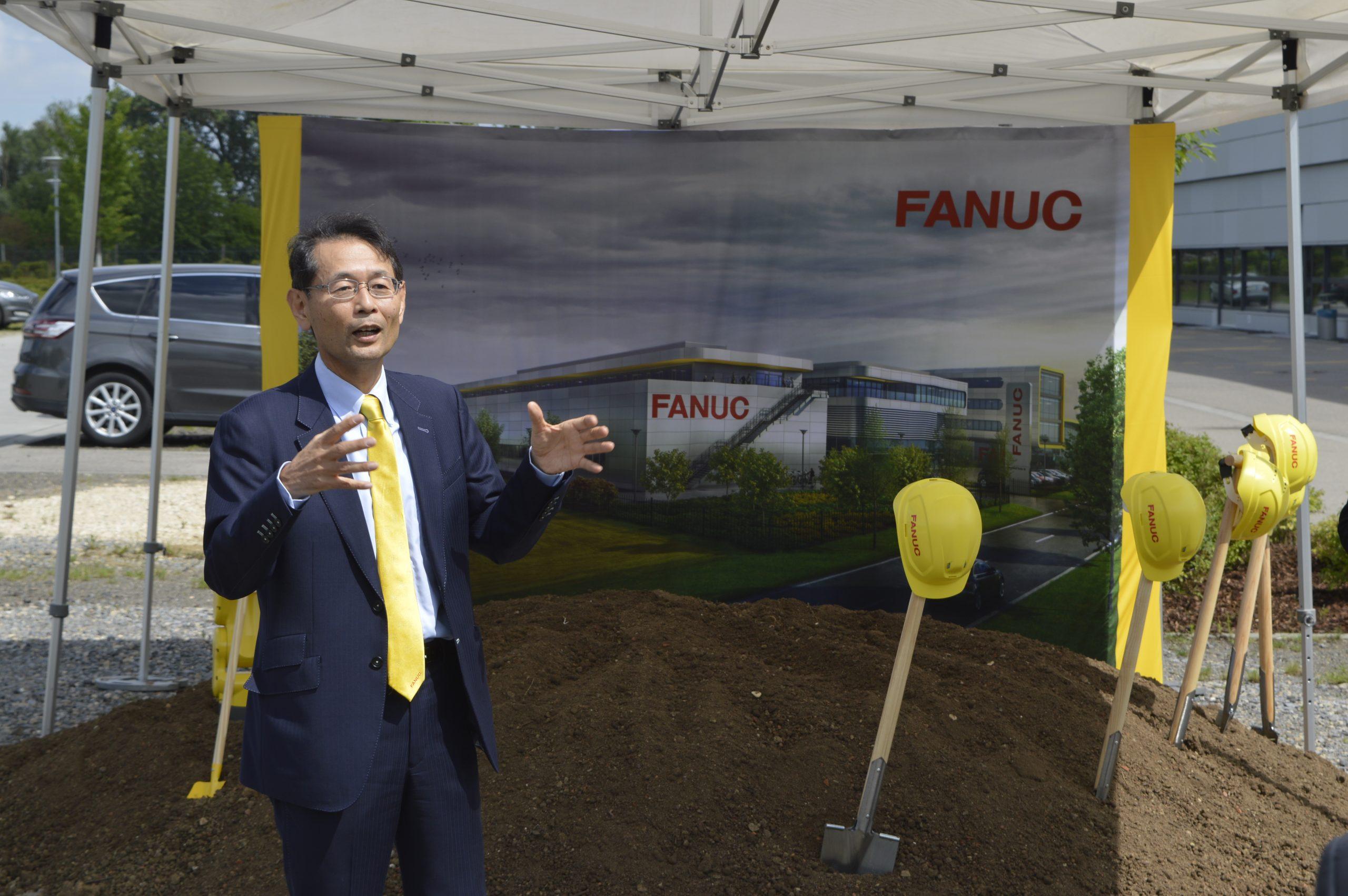 Start für Standorterweiterung bei Fanuc Deutschland