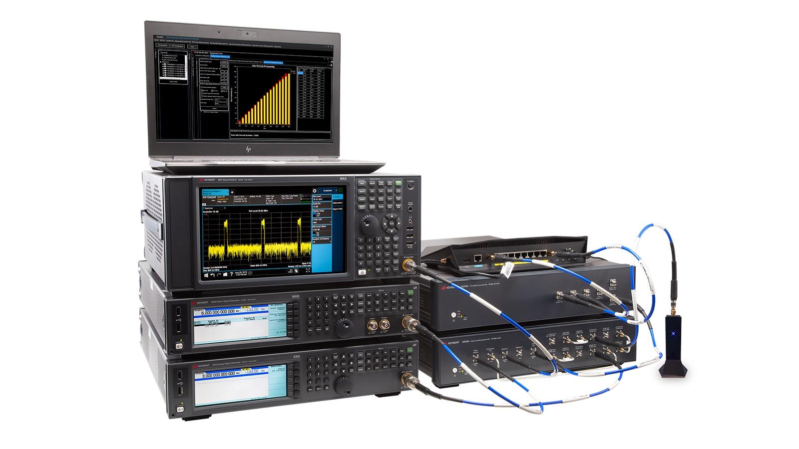 Testlösung zur Wireless-Zertifizierung