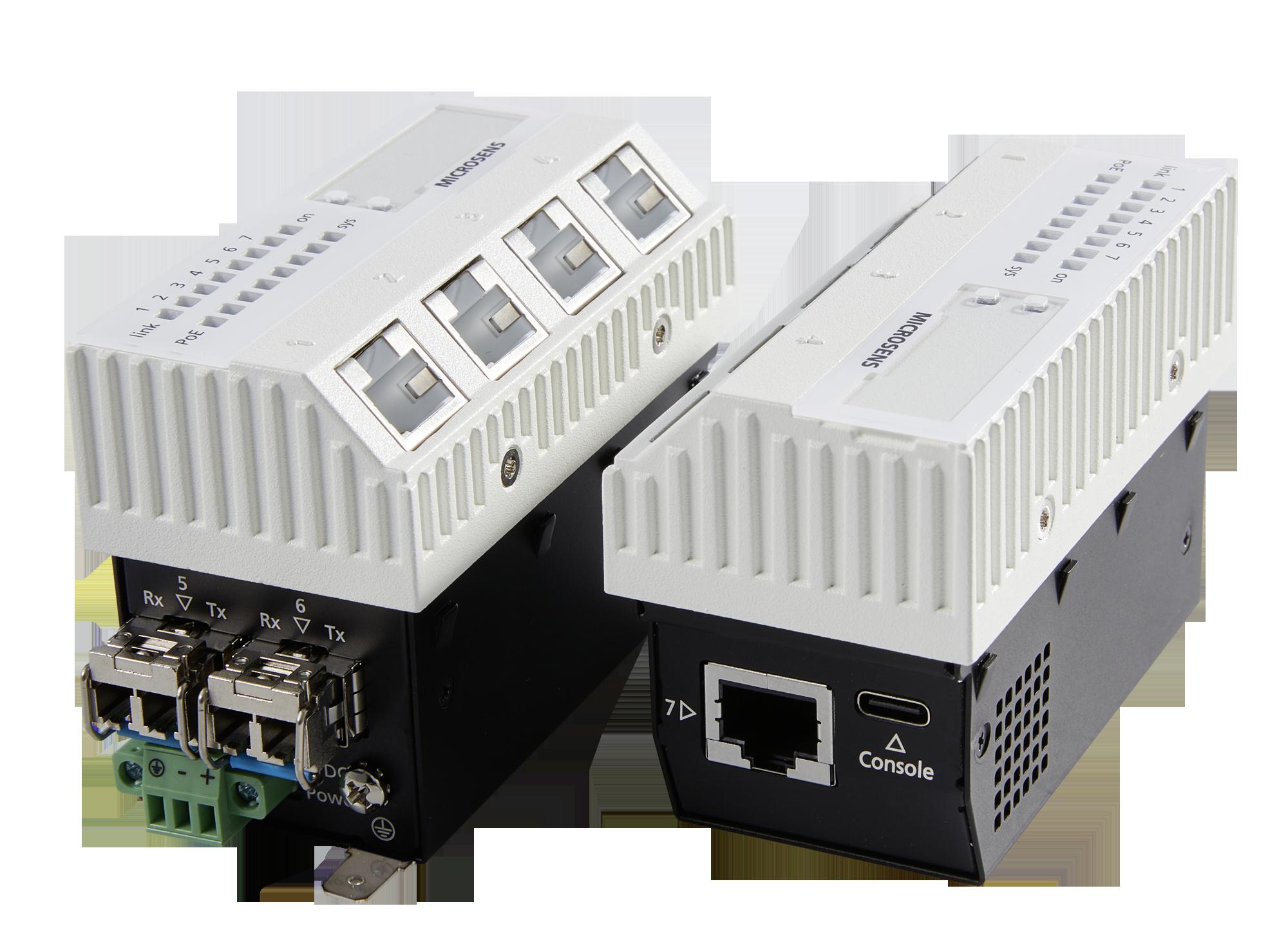 Micro Switch mit 10GBit Uplinks