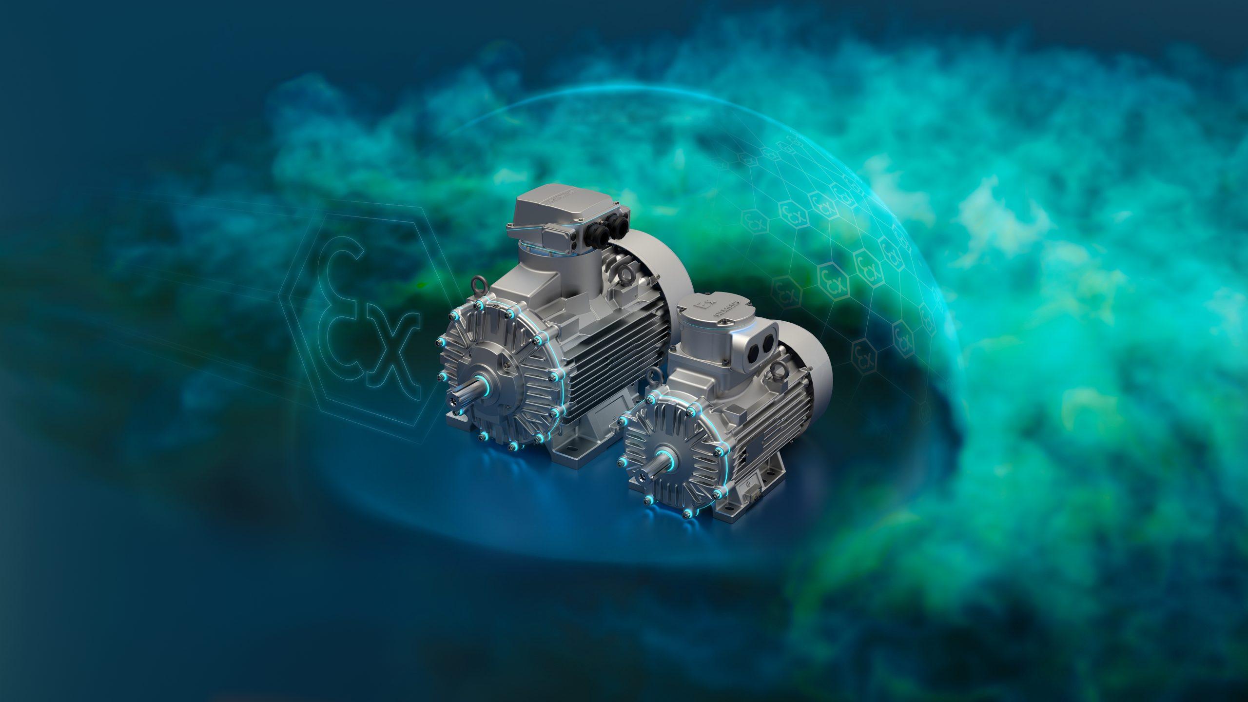 Siemens erweitert Motorenangebot für die Prozessindustrie