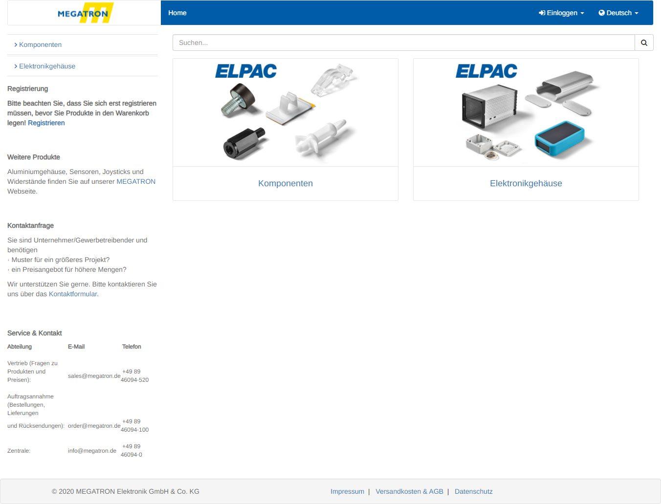 Elpac-Produkte online kaufen
