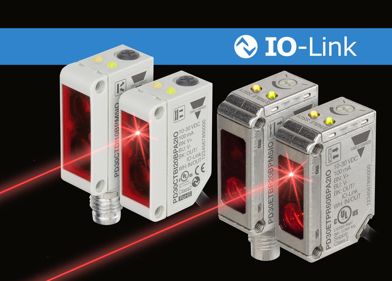 IO-Link-Lichtschranken mit erweiterter Funktionalität