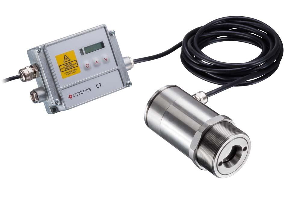 Hochgeschwindigkeits-Pyrometer mit 90µs Erfassungszeit