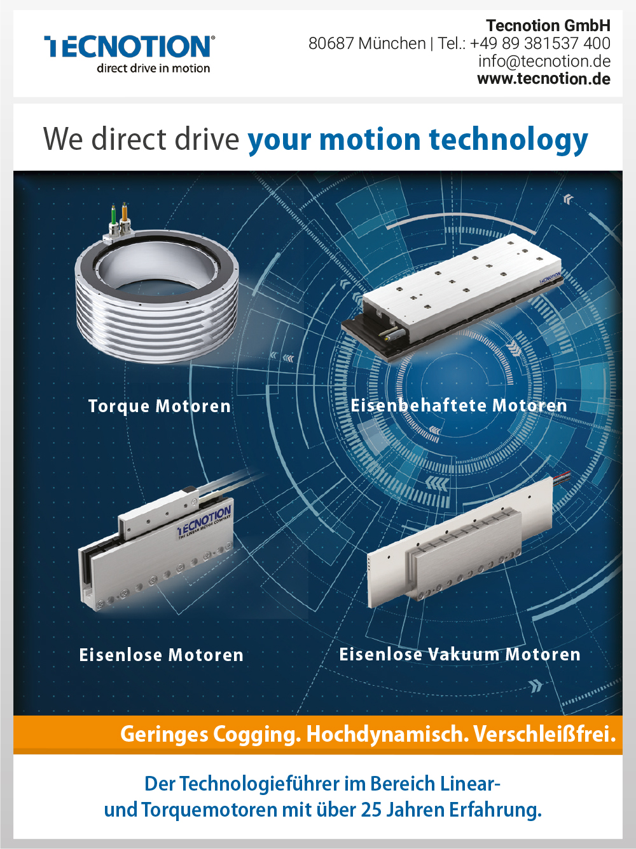 Produktübersicht – Tecnotion GmbH