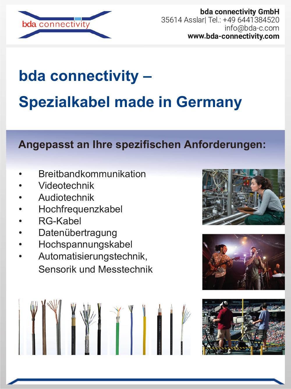 Produktübersicht – bda connectivity GmbH