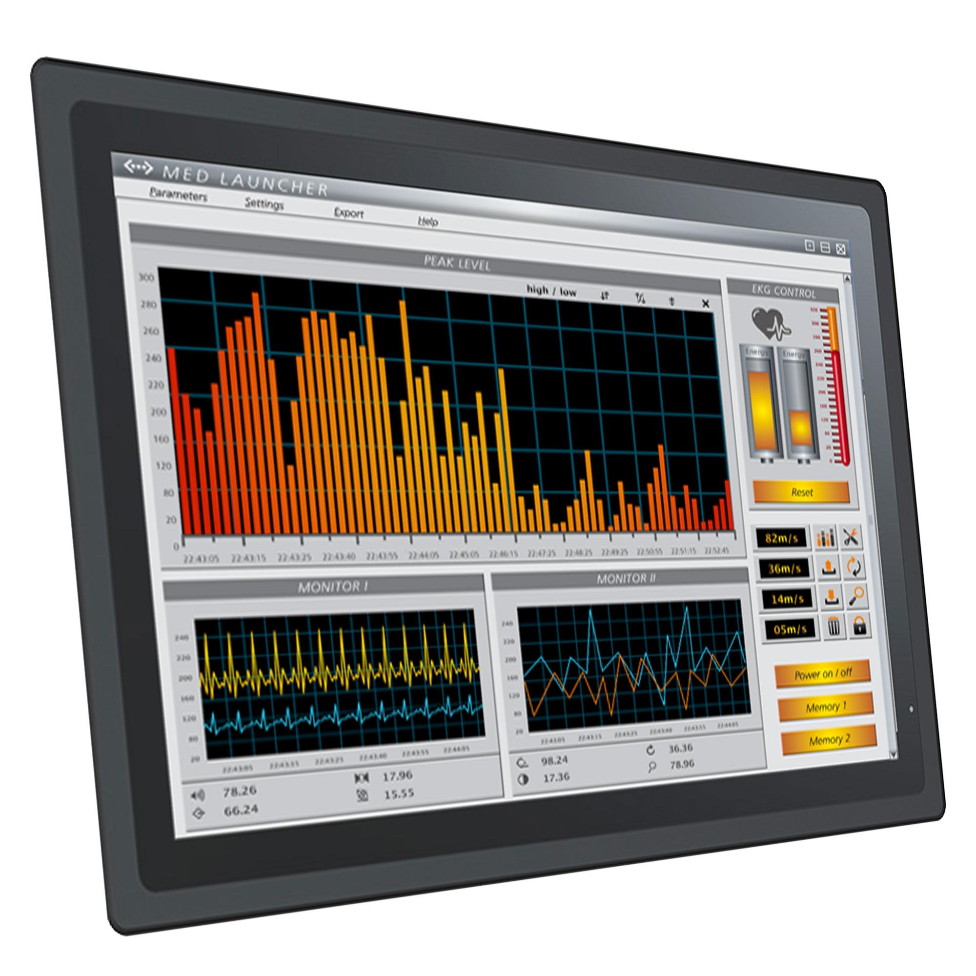 IP-geschützter Panel-PC mit 21,5″-Display