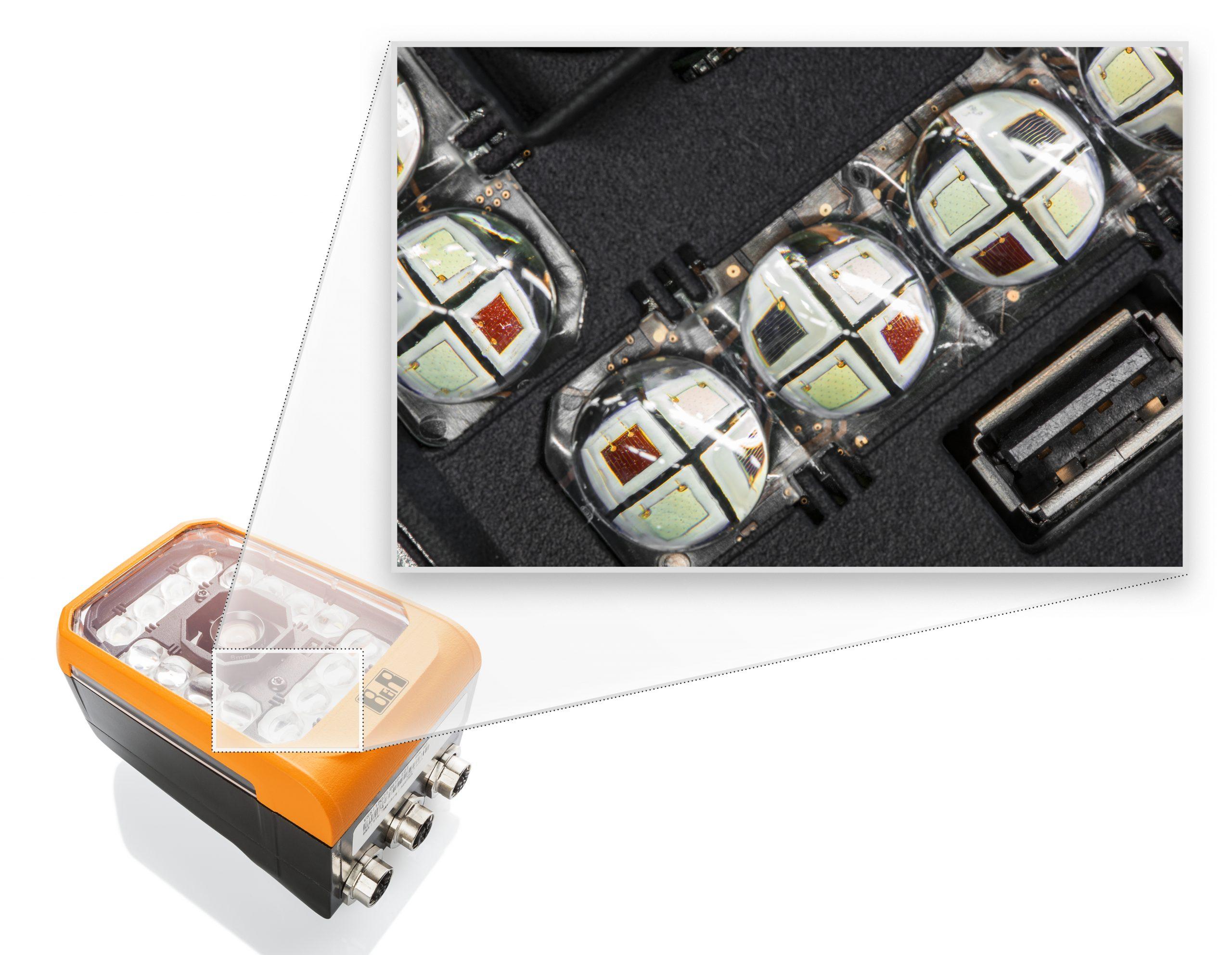 Beleuchtungssystem für hochgenaue Blitzzeitpunkte