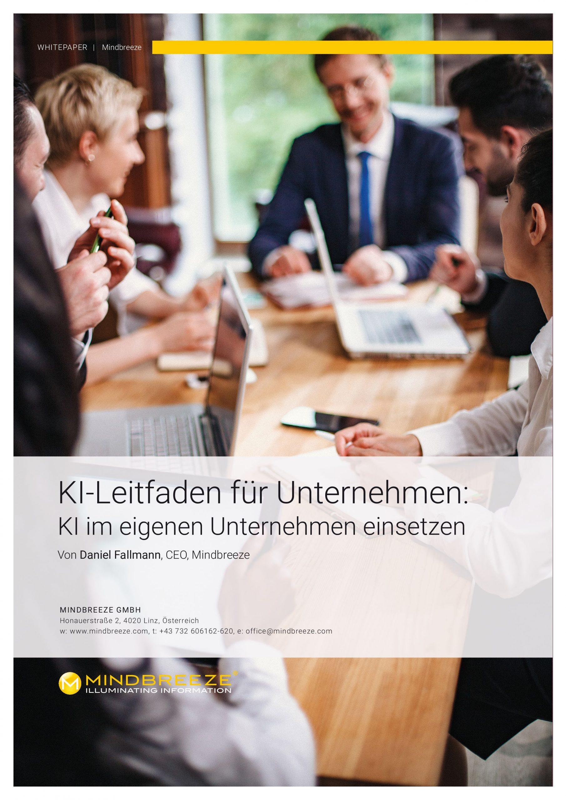 Whitepaper: KI-Leitfaden für Unternehmen