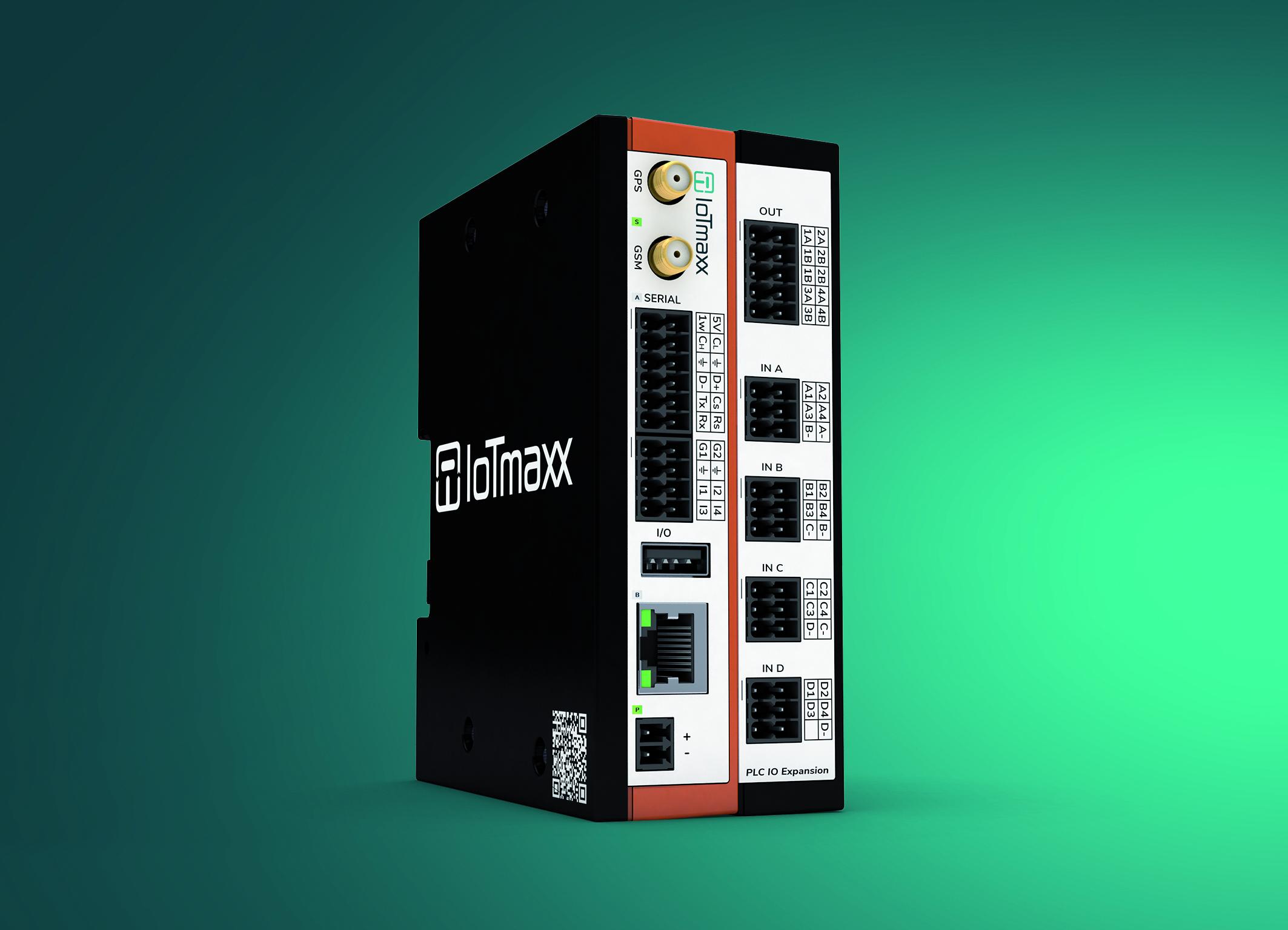 Robustes Industrie-Gateway mit SPS-Erweiterung