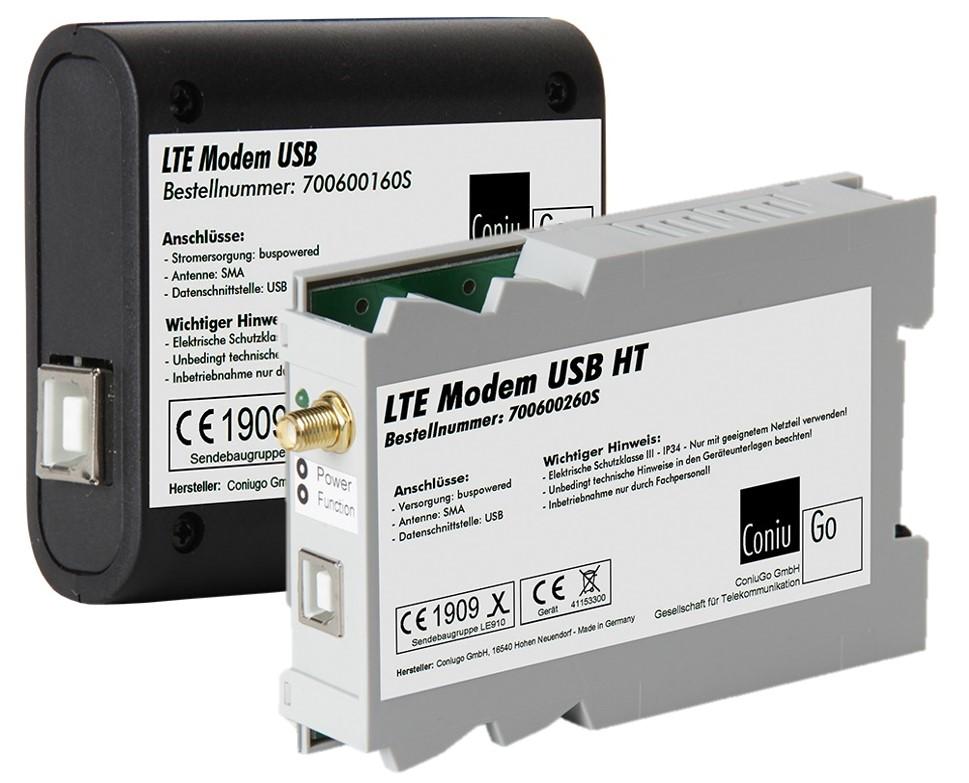 USB-Modem mit externem Netzteil