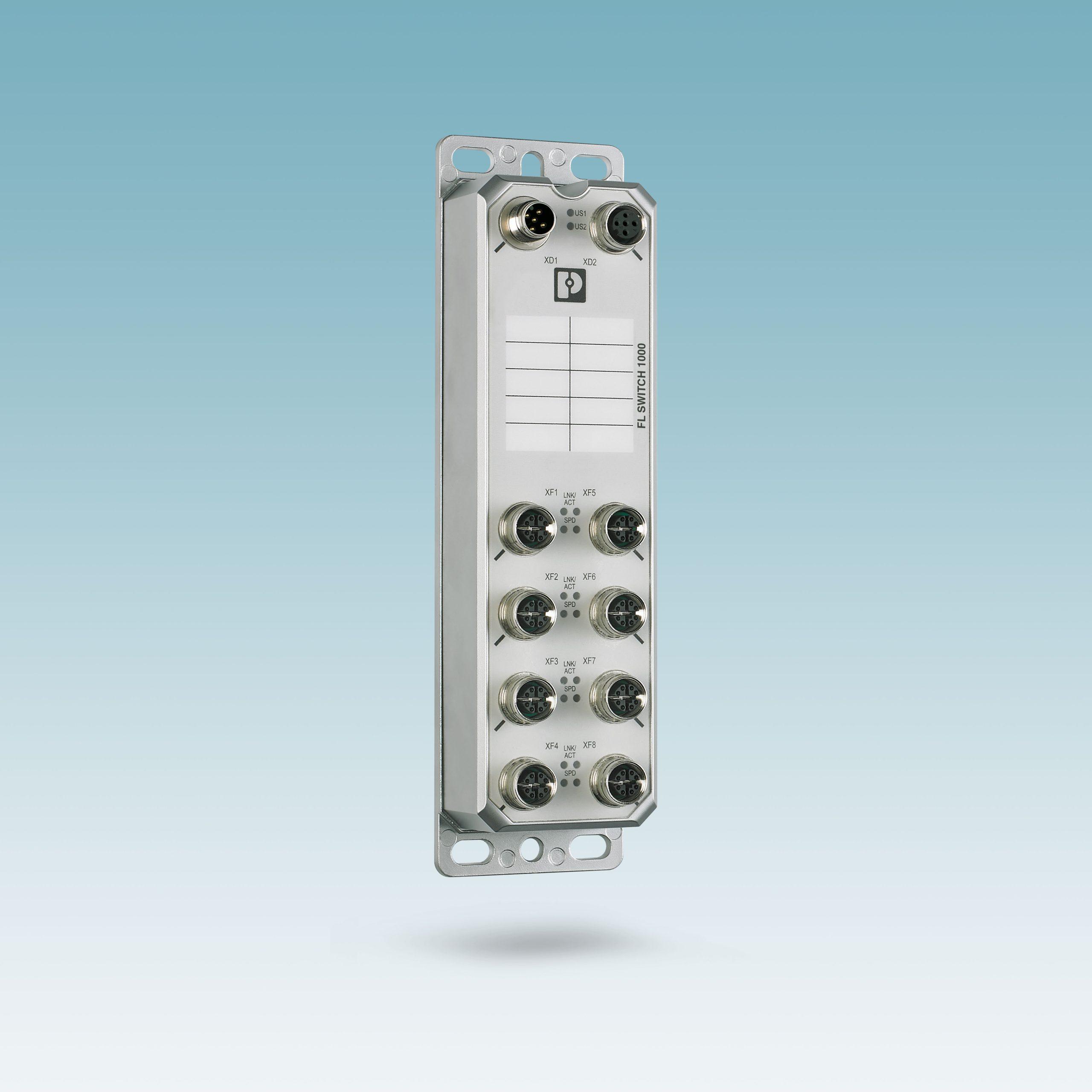 Switches mit Schutzart IP67