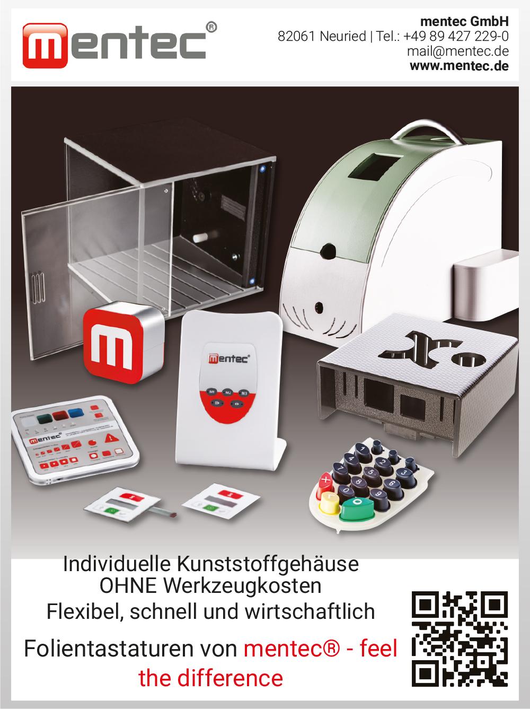 Produktübersicht – mentec GmbH