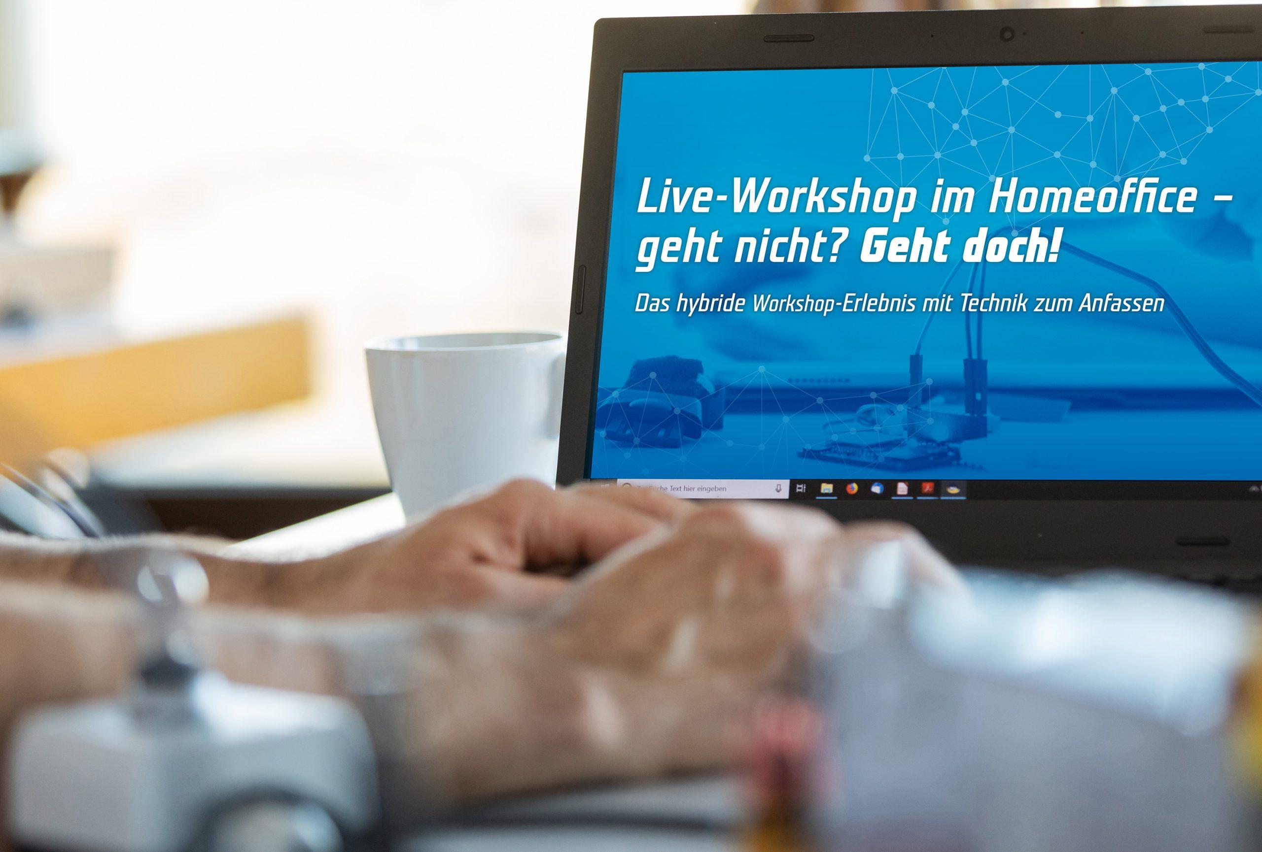 Live-Workshop im Homeoffice
