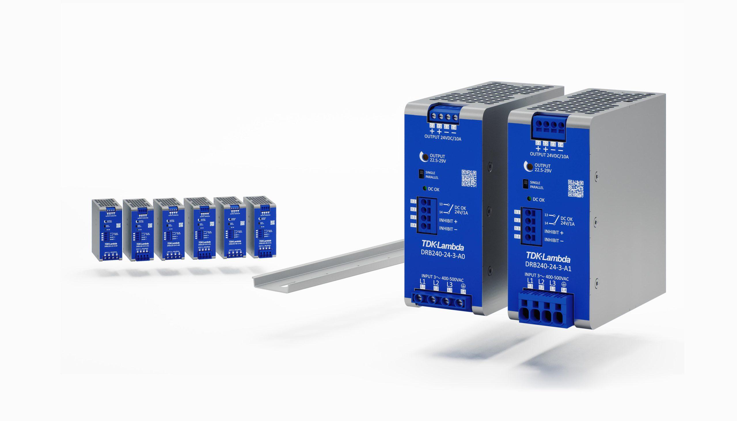 Kompakte Netzteile mit Dreiphaseneingang