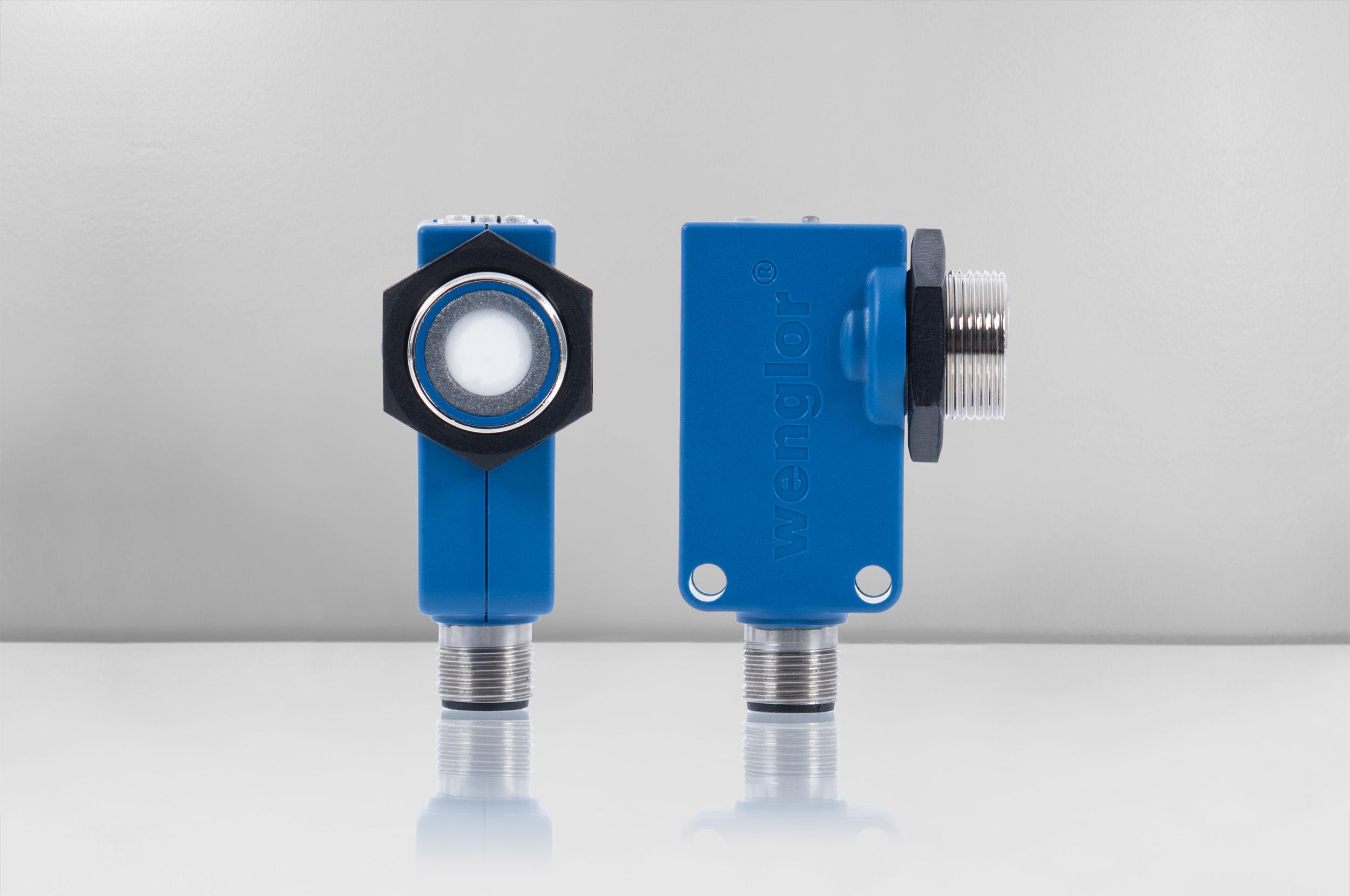Ultraschall-Distanzsensor mit NFC und IO-Link